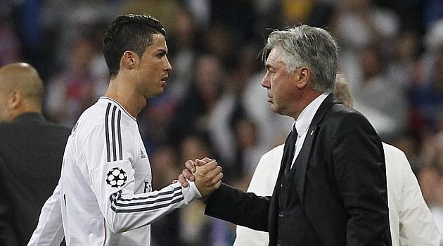 Cristiano Ronaldo Marah Jika Carlo Ancelotti Dipecat