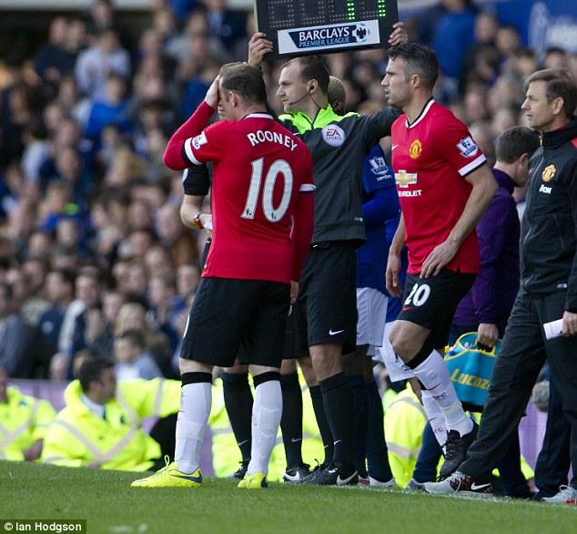 Empat Sisa Laga, MU tanpa Rooney