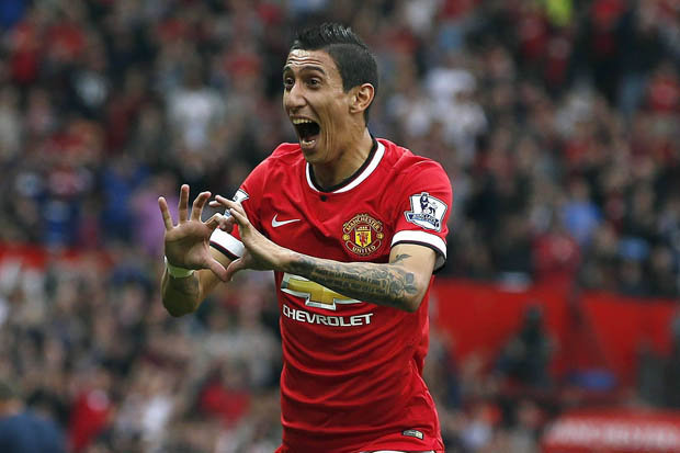 Angel Di Maria Bermain di Manchester United