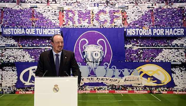 Benitez Sebut Real Madrid Adalah Skuad Terbaik Sepanjang Karirnya