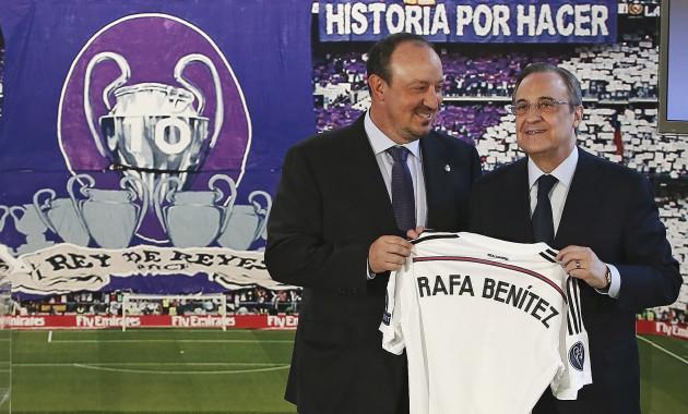 Benitez Datang Ke Madrid Dengan Metode Latihan Yang Berbeda
