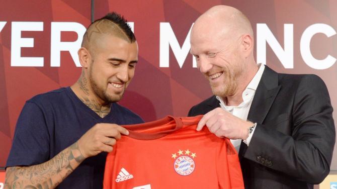Arturo Vidal Resmi Gabung Bayern Munchen