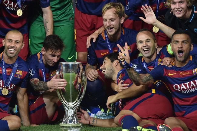 Lionel Messi Dinobatkan Sebagai Pemain Terbaik Piala Super Eropa