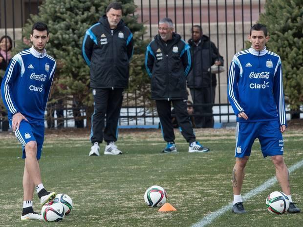 Martino Coret Empat Pemain Bintang dari Skuad Timnas Argentina