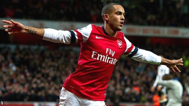 Theo Walcott Setia Di Arsenal Sampai 2019