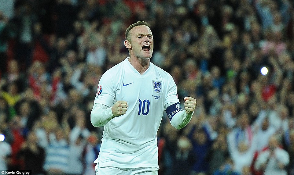 Rooney Resmi Jadi Top Skorer Sepanjang Masa Timnas Inggris