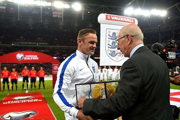 Rooney Siap Pecahkan Rekor Gol Legenda Inggris