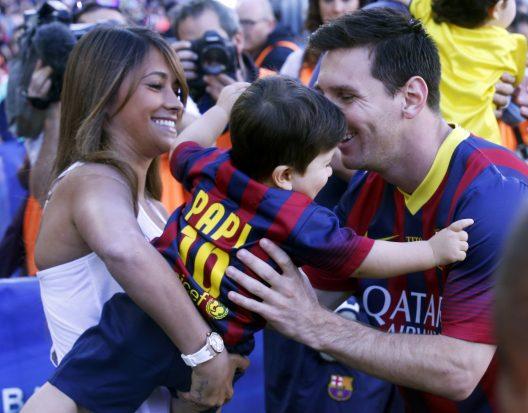 Messi dan Antonella